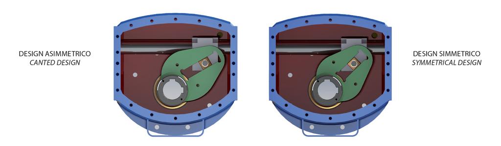碳钢材质GD型重载荷双效气动执行器 - 规格 -