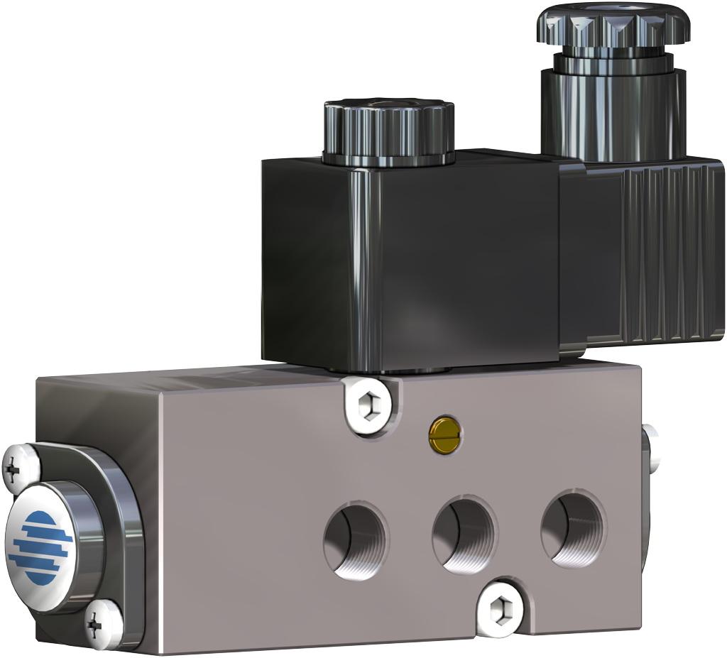 A105碳钢材质GS单效气动执行器 - 附件 - NAMUR 电磁阀