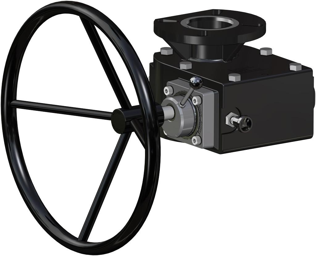 A105碳钢材质GS单效气动执行器 - 附件 - 手动解锁操纵器