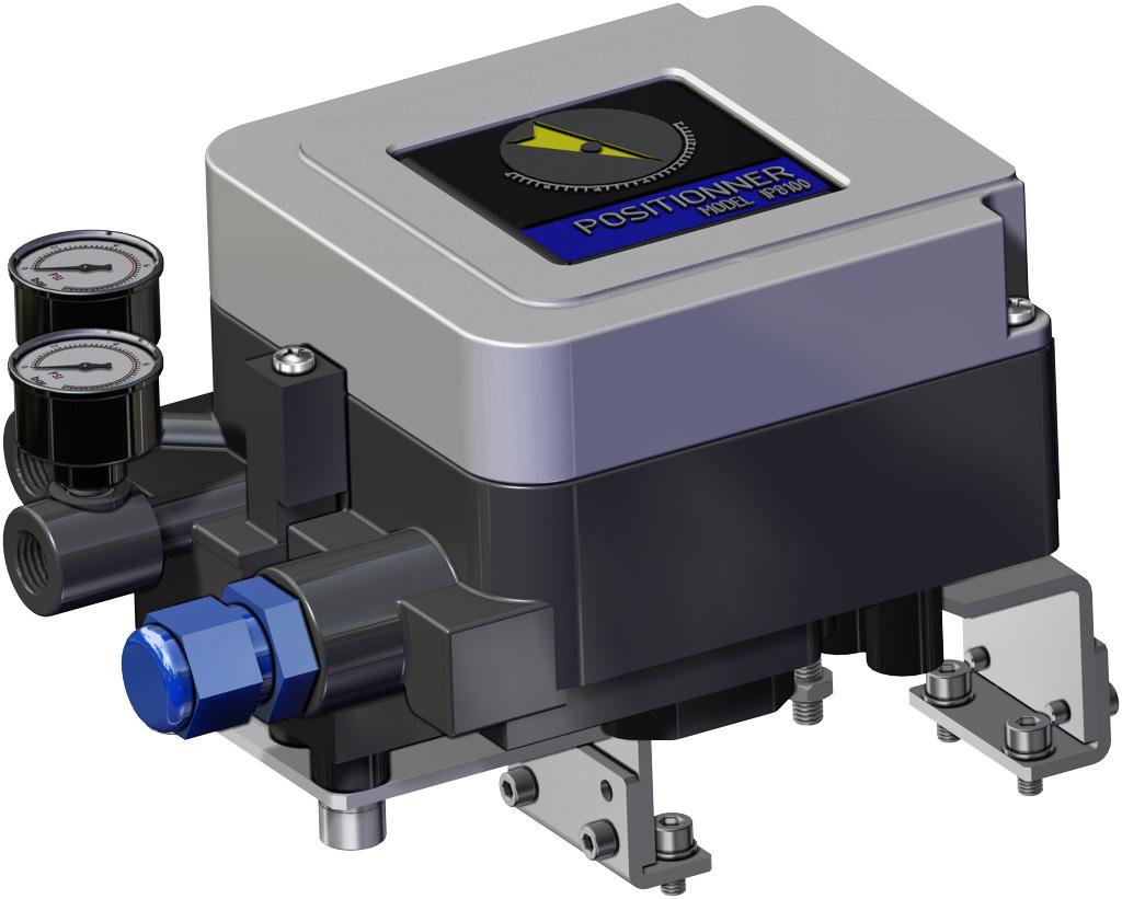 A105碳钢材质GS单效气动执行器 - 附件 - 电气定位器(内置安全装置)