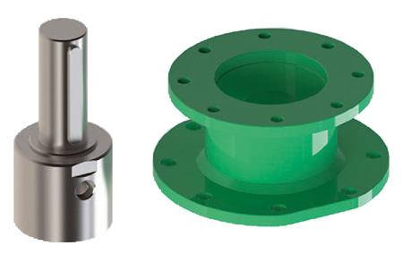 碳钢材质GD型重载荷双效气动执行器 - 附件 - 连接器 - 接头