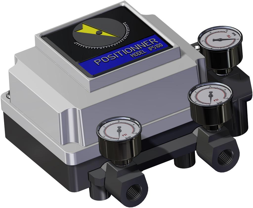 A105碳钢材质GS单效气动执行器 - 附件 - 气动定位器