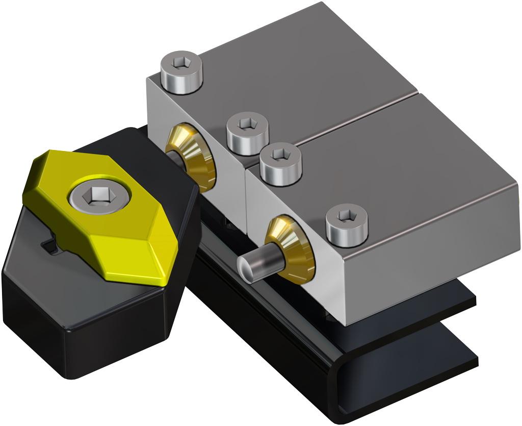A105碳钢材质GS单效气动执行器 - 附件 - 气动式限位器
